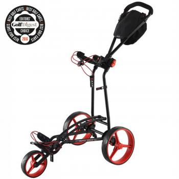 Big Max Autofold FF Golftrolley black/rot - GC00607730