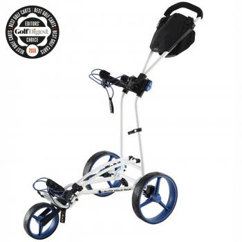Big Max Autofold FF Golftrolley weiss/cobalt/black - GC00607730